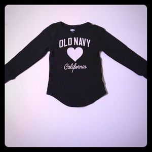 Girls XS (5) Old Navy Thermal Long Sleeve